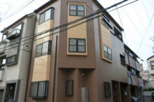 大阪市住吉区 Ⅰ様邸 外壁塗装・屋根塗装 (1)