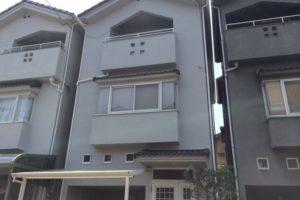大阪府八尾市 K様邸 外壁塗装・屋根塗装 (1)