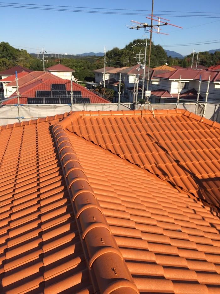 大阪府堺市 T様邸 外壁塗装・屋根塗装・付帯部塗装・雨樋新設 (4)