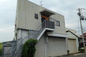 大阪府八尾市 O様邸 外壁塗装・屋根塗装・鉄骨階段補修 (2)