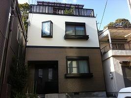大阪府藤井寺市 S様邸 外壁塗装・屋根塗装 (1)