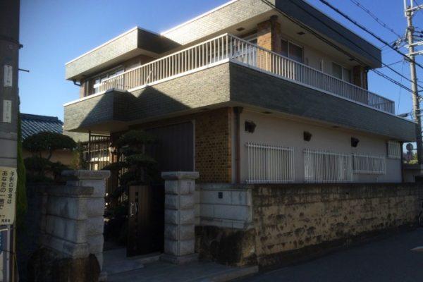 大阪府八尾市 H様邸 外壁塗装・付帯部塗装 (2)
