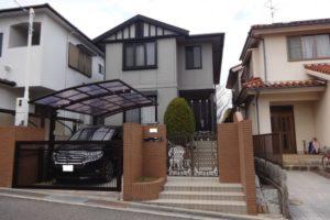 大阪府箕面市 Ⅰ様邸 外壁塗装・屋根塗装 (2)