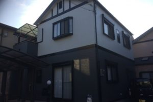 大阪府堺市 N様邸 外壁塗装・屋根塗装・付帯部塗装 (1)