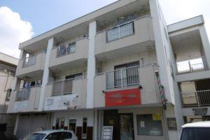 大阪府堺市 Wマンション 外壁塗装・付帯部塗装・廊下、階段 長尺シート貼り (2)