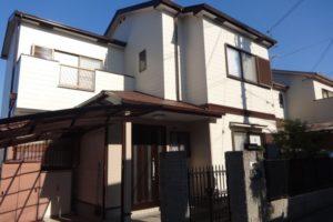 大阪府富田林市 O様邸 外壁塗装・屋根塗装・付帯部塗装 (1)