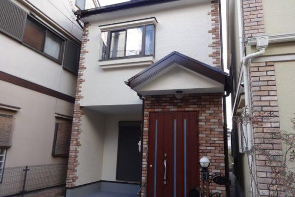 大阪府八尾市 M様邸 外壁塗装・屋根塗装・付帯部塗装 (1)