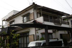 大阪府東大阪市 M様邸 外壁塗装・付帯部塗装 (2)