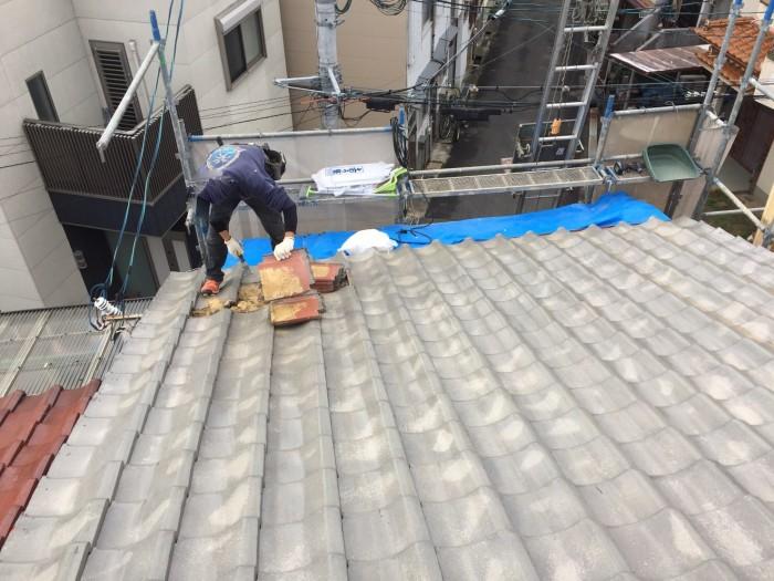 大阪府大東市 K様邸 屋根葺き替え工事・外壁塗装 (3)