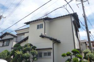 大阪府藤井寺市 N様邸 外壁塗装 (1)