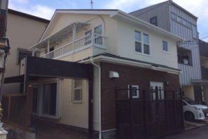 大阪府堺市 M様邸 外壁塗装・屋根塗装・付帯部塗装 (1)