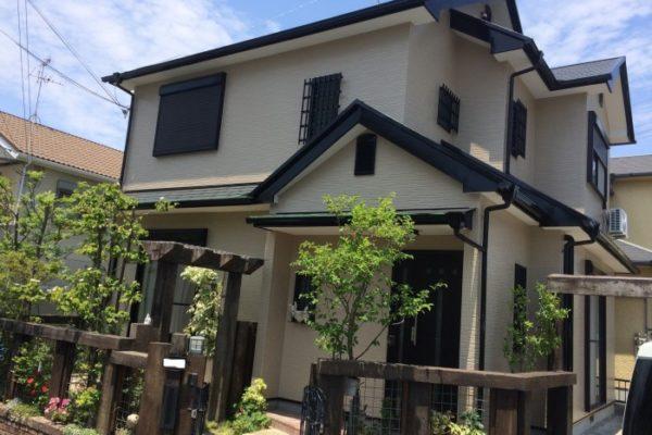 大阪府堺市 S様邸 外壁塗装・屋根塗装・付帯部塗装 (1)