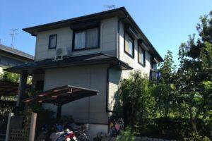 奈良県北葛城郡 W様邸 外壁塗装・屋根塗装 (2)