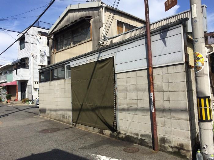 大阪府八尾市 S社 外構ブロック塀塗装 (2)