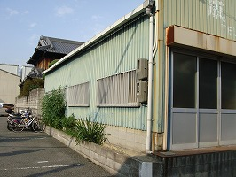 大阪府八尾市 N様倉庫 外壁塗装・屋根塗装 (2)
