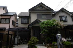 大阪府堺市 K様邸 外壁塗装・屋根塗装・付帯部塗装 (2)