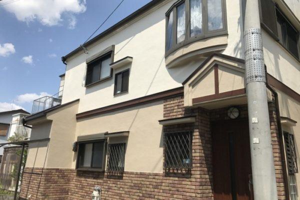 大阪府八尾市 N様邸 外壁塗装・屋根塗装・付帯部塗装 (1)