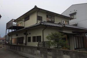 大阪府高石市 M様邸 外壁塗装・付帯部塗装 (1)