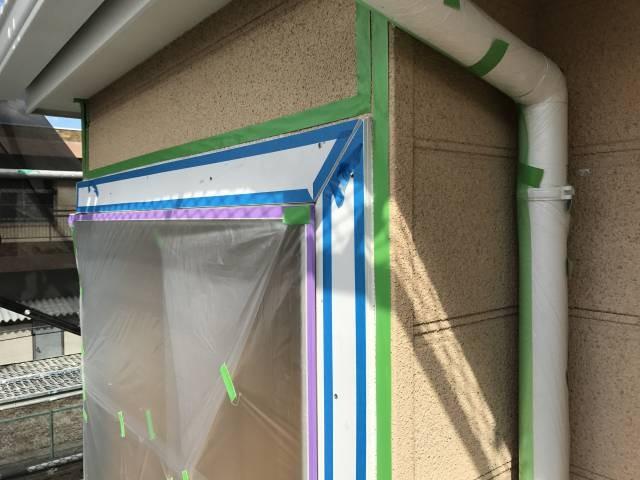 大阪府堺市 Y様邸 外壁塗装・屋根塗装・付帯部塗装 (3)